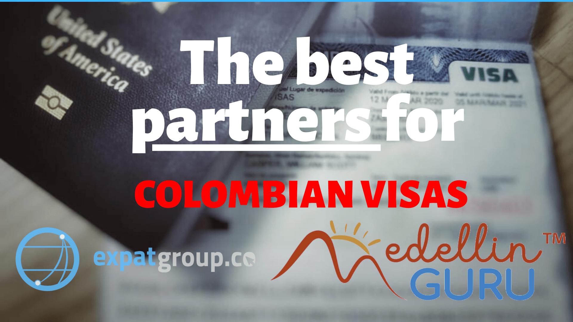 Expatgroup.co,the official Colombian visa partner for Medellín Guru