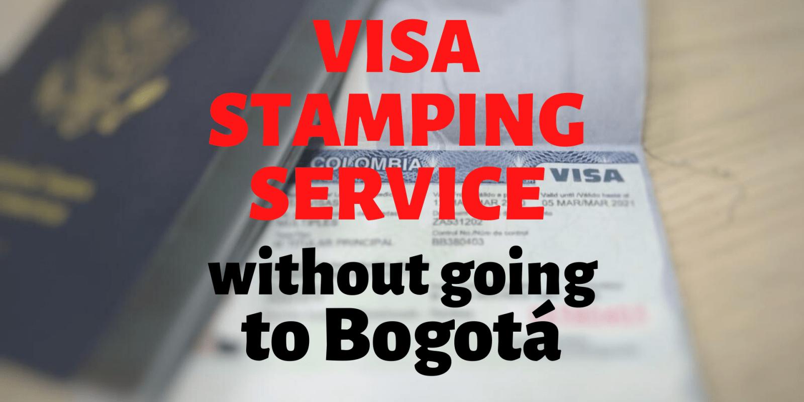 Visa Stamping Service