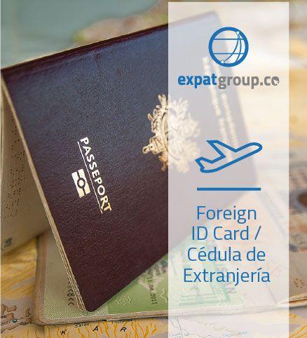 Foreign ID Card / Cédula de Extranjería