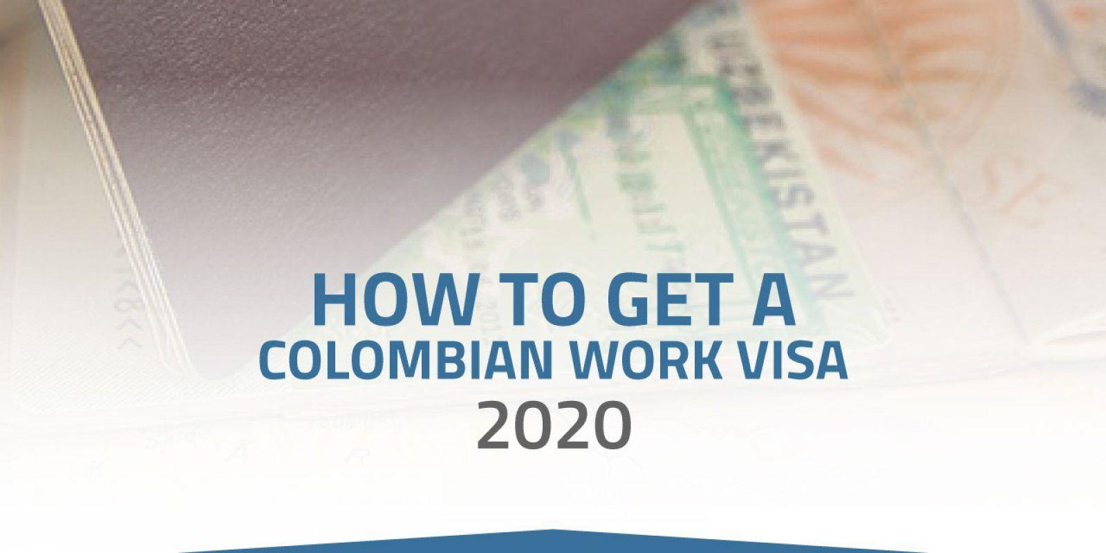 colombian work visa 2020