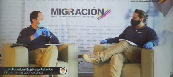 Migración Colombia event